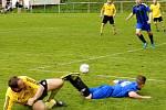 Fotbalisté Městečka brali se Zavidovem B pouze bod za prohru po penaltách a přepustili první místo Lužné.