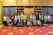 Děti z 1. mateřské školy v Rakovníku.
