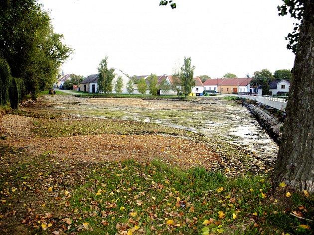 Do Zabránského rybníka v Pavlíkově by se měl vrátit život