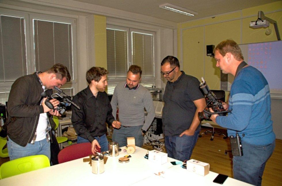 Začátky využívání výukové metody Maker Culture na rakovnické průmyslovce.