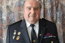 Zasloužilý hasič Josef Vorel