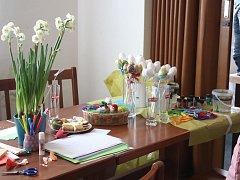 Velikonoční jarmark připomněl blížící se jaro.