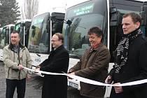 Uvedení autobusů do provozu