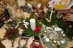 Z adventního jarmarku a rozsvícení vánočního stromu v Šanově.