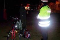 Bezpečnostní kontrola cyklistů