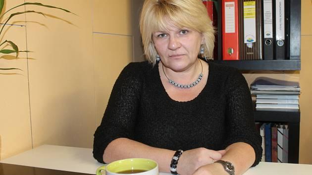 Hana Vanická, ředitelka Základní školy, mateřské školy speciální a praktické školy v Jesenici