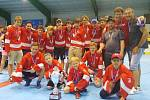 Rakovnický hokejbalový tým starších žáků