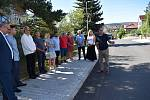 Ze slavnostního otevření zrekonstruovaných ulic Zd. Štěpánka, bezejmenná, Vinohradská a U Křížku