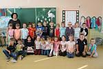 Třídu 1. A vede třídní učitelka Miloslava Klatovská.
