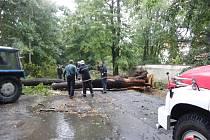 Větrná smršť na Rakovnicku napáchala opět škody