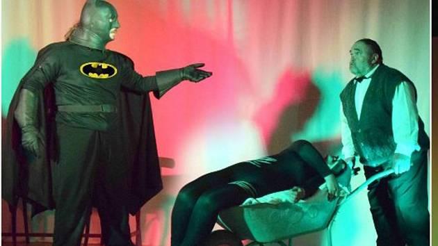 Amatérské divadlo Unhošť ve hře Batman
