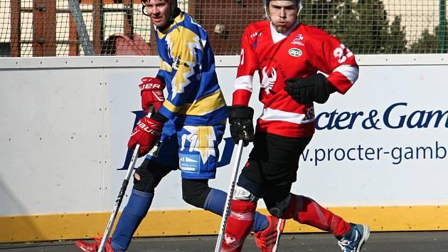 Hokejbalisté prohráli v přípravě s Kovem 2:3