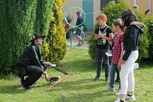 Den dětí Integrovaného záchranářského systému v Jesenici.