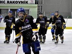 Hokejisté HC Rakovník podlehli týmu David servis České Budějovice v baráži o druhou ligu 5:8