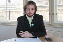Lukáš Hamouz sbíral  podpisy na Petici za svobodné podnikání