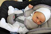 VLADIMIR MASLOVSKIJ, MUTĚJOVICE. Narodil se 7. června 2019. Po porodu vážila 3.9kg a měřil 51 cm. Rodiče jsou Sergej a Yuliya.