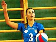Rakovnická volejbalistka Šárka Horníková