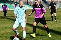 Z divizního fotbalového utkání Chomutov - Tatran Rakovník (2:1)
