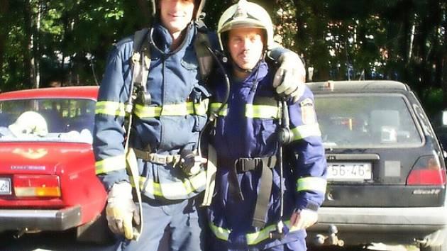 Luženští hasiči na závodech v Liberci