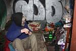 Bezdomovci hledají teplé úkryty