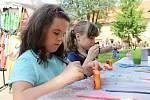 Dětský víkend na hradě Křivoklát bavil děti i dospělé.