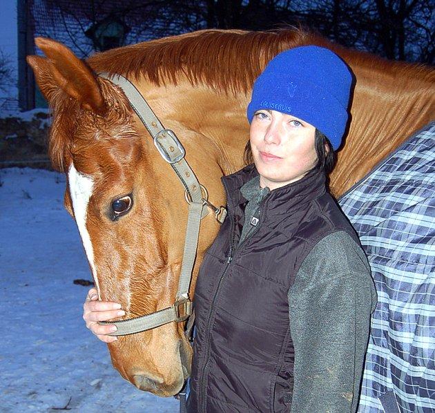 Andrea si koně zamilovala na celý život