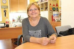 Milena Křikavová, ředitelka Městské knihovny Rakovník a organizátorka Rakovnického cyklování.