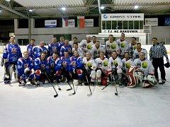 Běloruští amatérští hokejisté z Vitebsku zvítězili nad rakovnickými juniory po samostatných nájezdech, když po základní hrací době skončil duel 6:6.