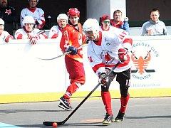 Hokejbalisté HBC Rakovník prohráli s Hradcem Králové 3:4.