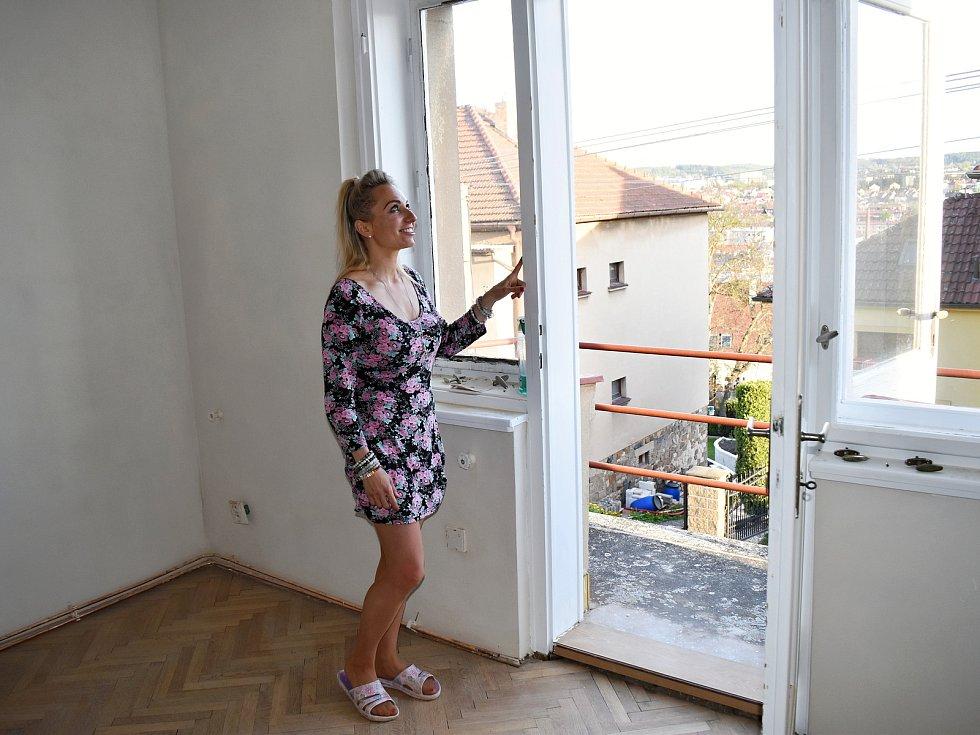 Jedna z místností v domě Zuzany Dubnové poslouží jako vyučovací prostory.