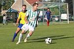 Z fotbalového utkání České fotbalové ligy Hostouň - SK Rakovník (4:0)