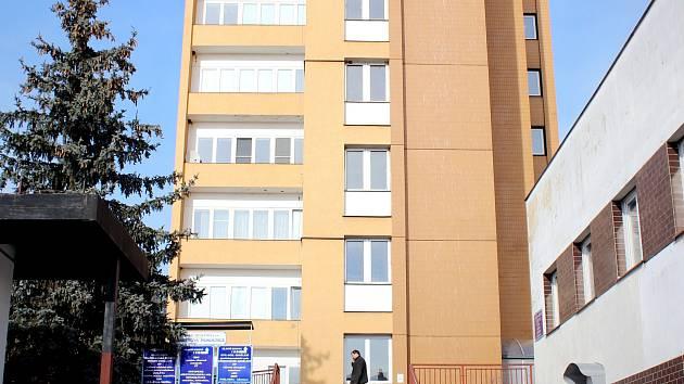 Masarykova nemocnice v Rakovníku.