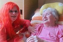 Karneval v Domově pro seniory v Kolešovicích