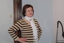 Naďa Jurgovská, vedoucí a zakladatelka  tanečního souboru Klobouček