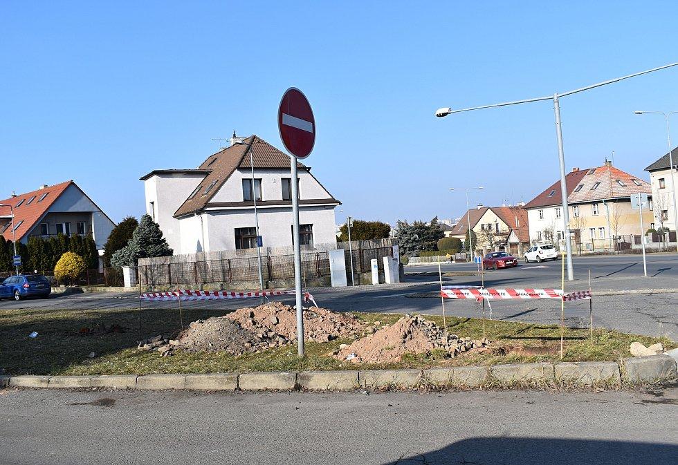 Rekonstrukce ulic v Rakovníku na Zátiší.