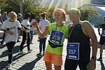 Sláva Pilík a Martina Bradáčová na maratonu v Itálii.