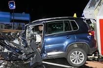 Nehoda u Hořoviček.