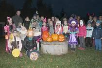 Halloween v Hořesedlích