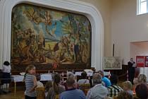 Slavnostní otevření opravené sokolovny v Kounově.