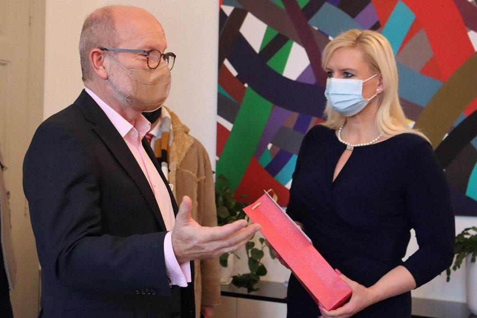 Návštěva slovenského velvyslance na KÚ Středočeského kraje.