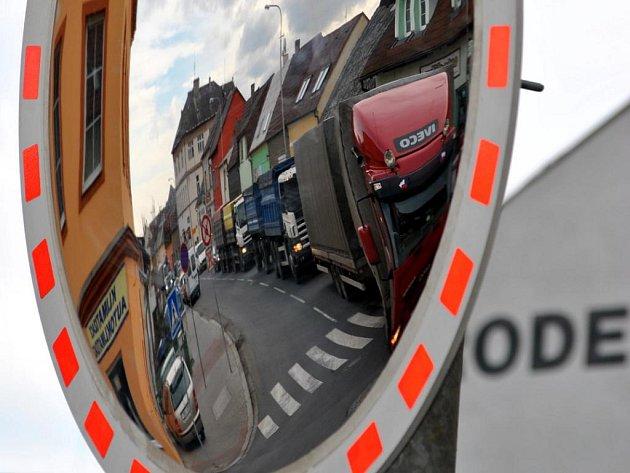 Křižovatka v ulici Ottova