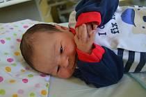 TOMÁŠ SAK, NOVÉ STRAŠECÍ. Narodil se 2. října 2019. Po porodu vážil 4,2 kg a měřil 52 cm. Rodiče jsou Magdalena a Petr.