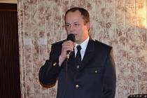Dosavadního starostu Sboru dobrovolných hasičů v Novém Strašecí Zbyňka Polívku po třinácti letech vystřídal jednohlasně zvolený Ondřej Kratina (na snímku).