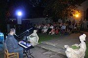 Koncert Václava Tobrmana se opravdu vydařil. Lidi kromě hudby a muzejního nádvoří lákalo také skvělé počasí.
