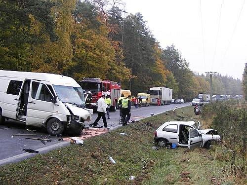 Tragická havárie na karlovarce