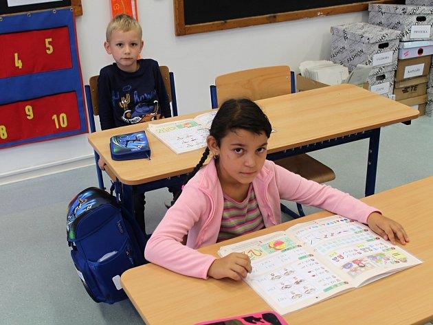 První ročník ZŠ a MŠ Kolešovice vede třídní učitelka Anna Čechová a pomáhá jí asistentka pedagoga Simona Laštůvková.