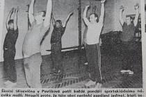 Foto z týdeníku Rozvoj z 16. listopadu 1989