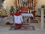 Součástí Svatovavřinecké pouti v Nezabudicích byla  pontifikální mše svaté v kostele sv. Vavřince. Celebroval Jaroslav Miškovský.