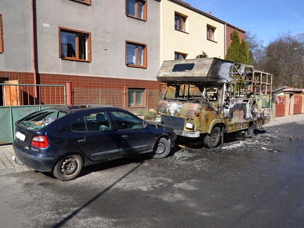 Požár Flemíkova ulice