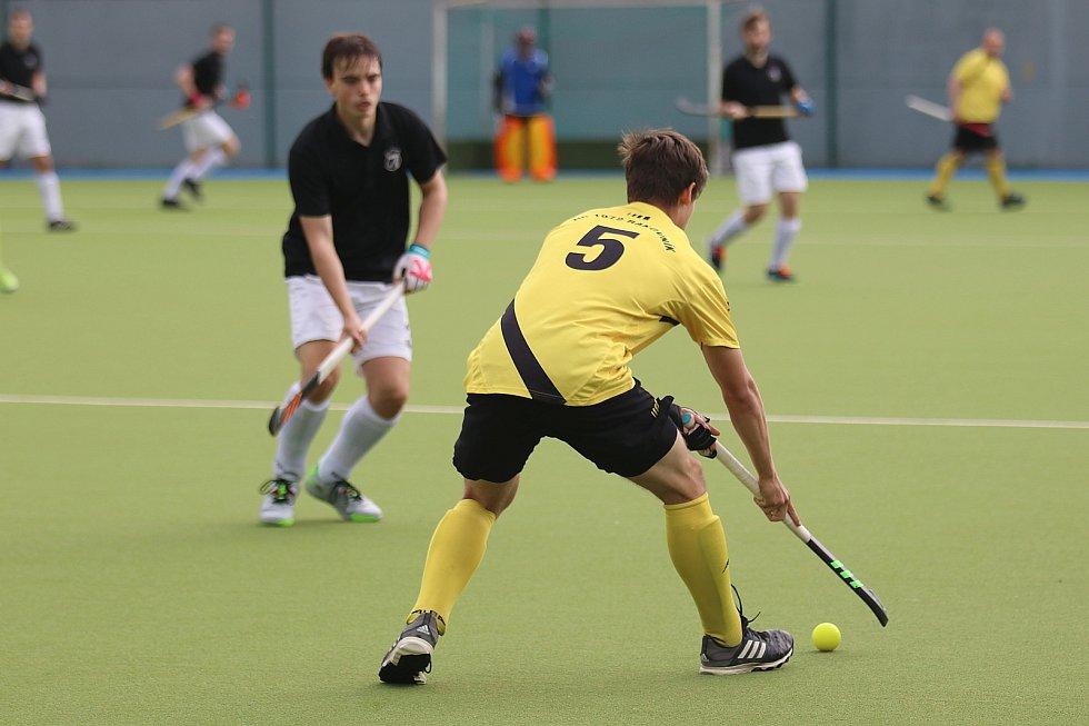 Pozemní hokej: Rakovník - Hostivař 6:1, favorit potvrdil svoji pozici.